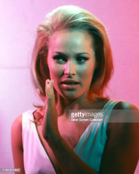 Swiss actress Ursula Andress as Ayesha in a publicity still for the film 'She' 1965