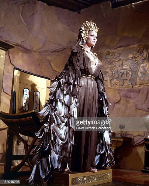 Swiss actress Ursula Andress as the immortal queen Ayesha in 'She' directed by Robert Day 1965