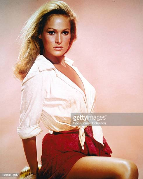 Swiss actress Ursula Andress circa 1965