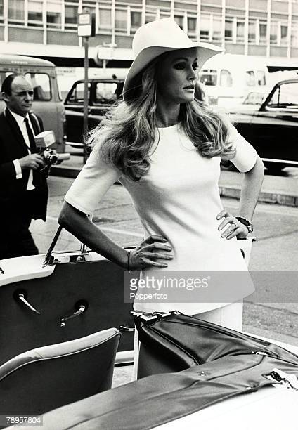 18th September 1969 Actress Ursula Andress born 1936 in Switzerland pictured at London's Heathrow Airport Ursula Andress first came to prominence...