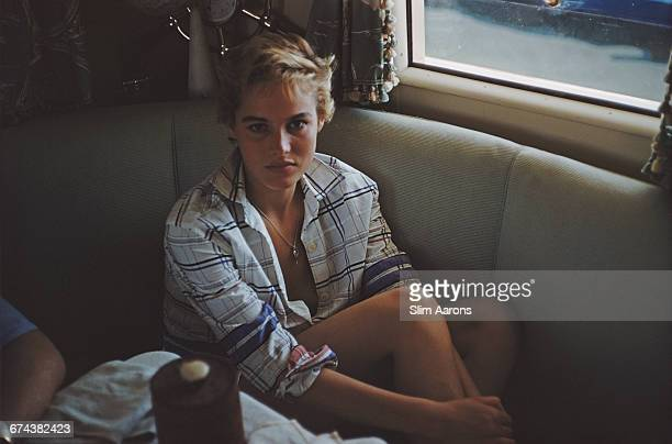 Swiss actress Ursula Andress in Italy circa 1954