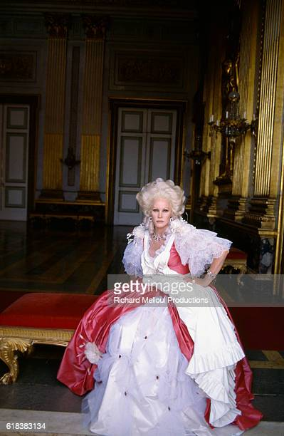 Swiss actress Ursula Andress wears her costume on the set of the French film Liberte, Egalite, Choucroute, or Liberty, Equality, Sauerkraut. The film was directed by Jean Yanne and also stars Michel Serrault and Jean Poiret.