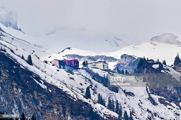 swiss alps - engelberg - crmacedonio imagens e fotografias de stock