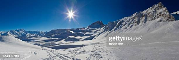 Swiss Alps Mountains - Panorama XXL