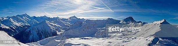 Schweizer Alpen Berge – Panorama XXL