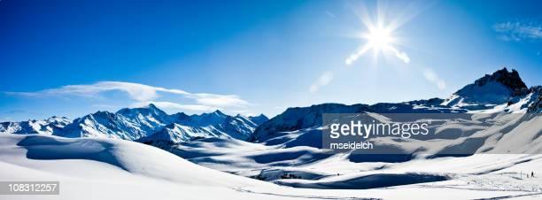 Schweizer Alpen Mountains Panorama XXXL Vetta