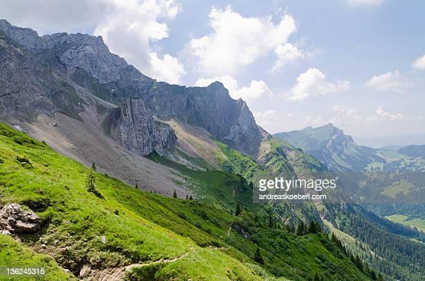 Swiss Alps near Lucerne