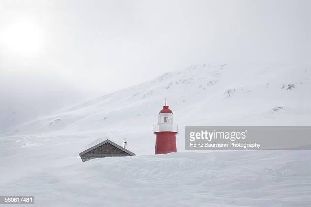 swiss alps - view from the oberalppass. - heinz baumann photography stock-fotos und bilder