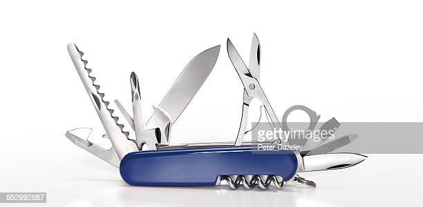 swiss army knife - survival stock pictures, royalty-free photos & images