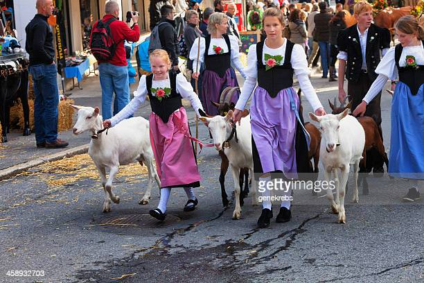 Swiss Autumn Harvest Festival, Traditional Costumes