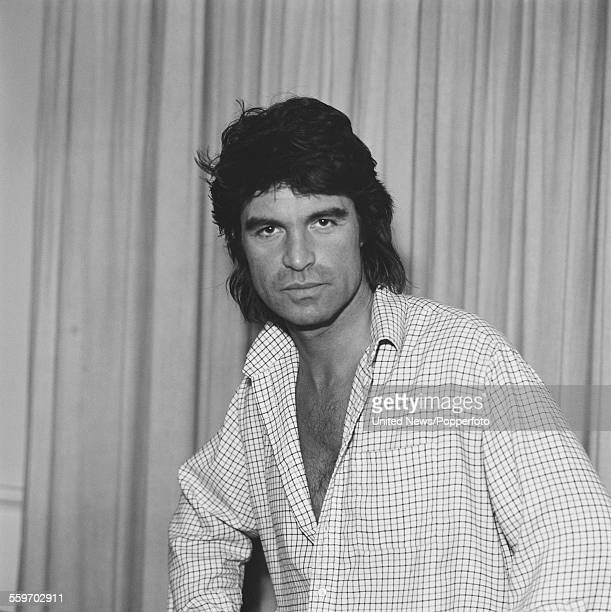 Swiss born actor Oliver Tobias who plays the character of Kit Locksby in the film 'The Wicked Lady' in London on 4th February 1983