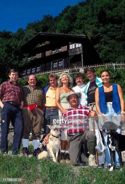 "Swiss celebrities on the ""Weg der Schweiz"""