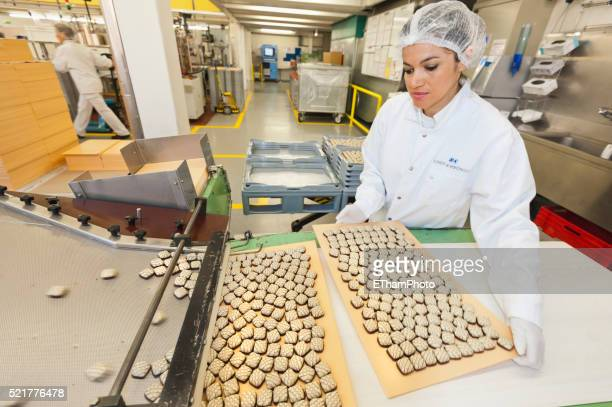 Swiss Chocolate Production at Lindt & Spruengli Chocolate Factory, Zurich