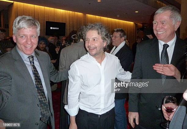 Swiss Circus master Daniele Finzi Pasca smiled happily after the world premiere of his production La Verità was applauded on January 17 2013 in...