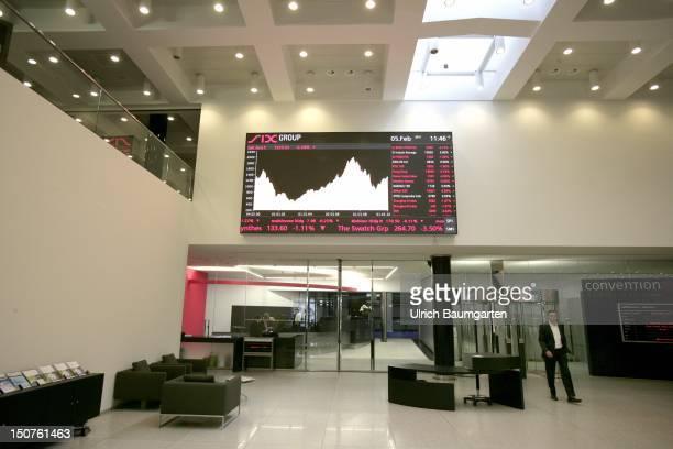 Swiss Exchange in Zurich