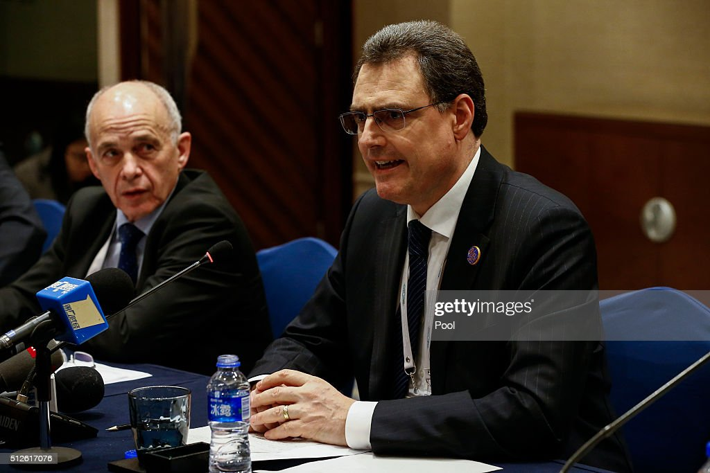 G20 Finance Ministers and Central Bank Governors Meet In Shanghai : News Photo