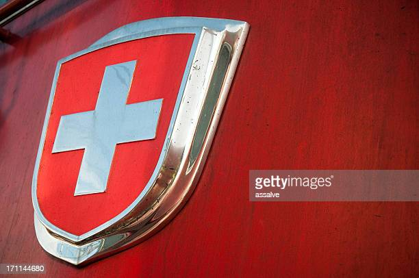 Schweizer Flagge emblem