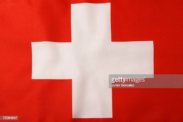 swiss flag - flag stock pictures, royalty-free photos & images