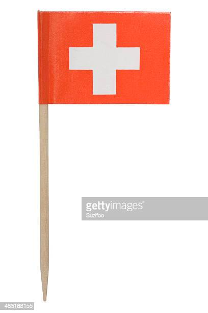 Schweizer Flagge Zahnstocher (XL