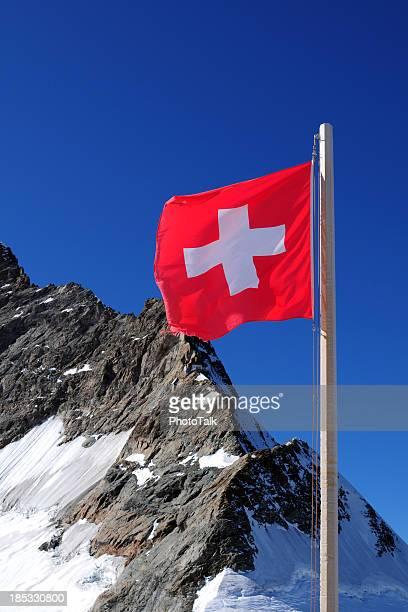bandiera della svizzera-xlarge - davos foto e immagini stock