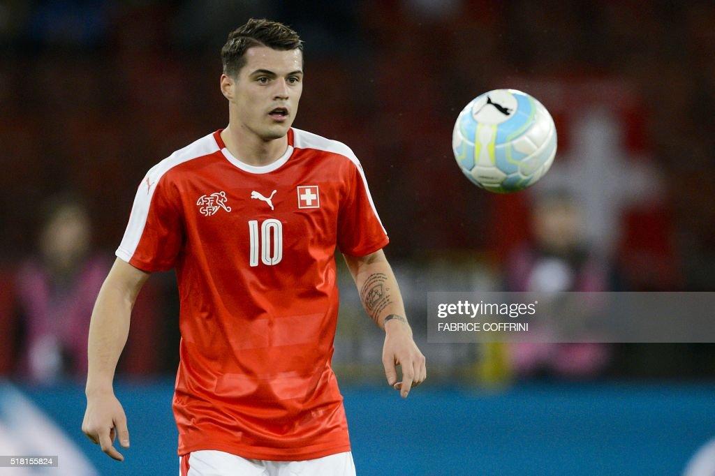 FBL-EURO-2016-FRIENDLY-SUI-BIH : News Photo