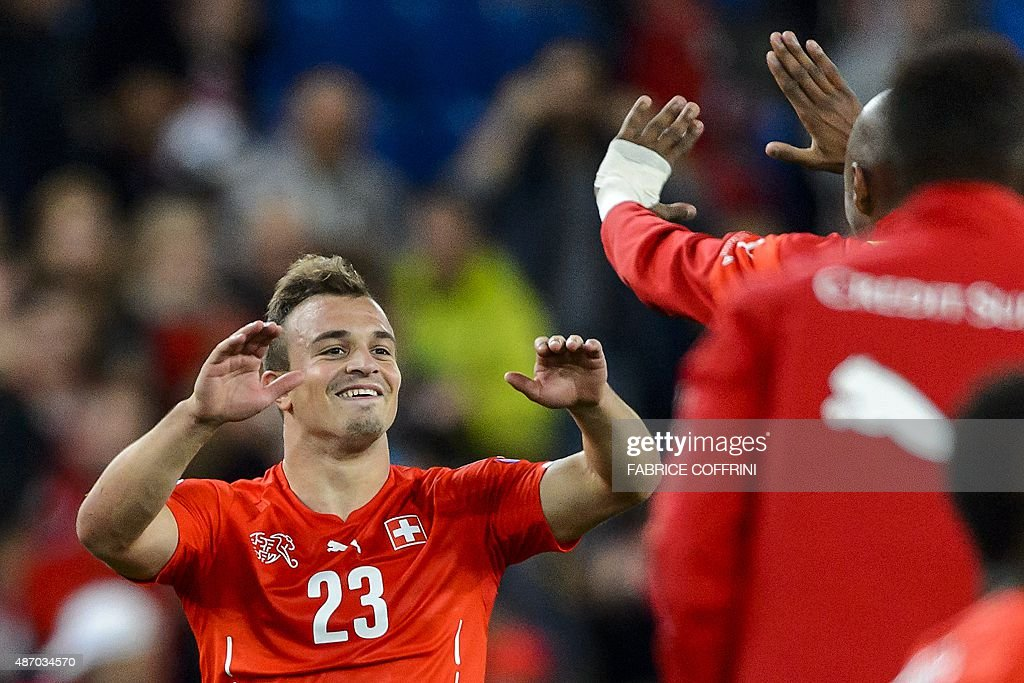 FBL-EURO-2016-SUI-SLO : News Photo
