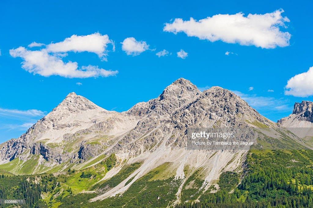 Swiss mountains near Arosa : Foto stock
