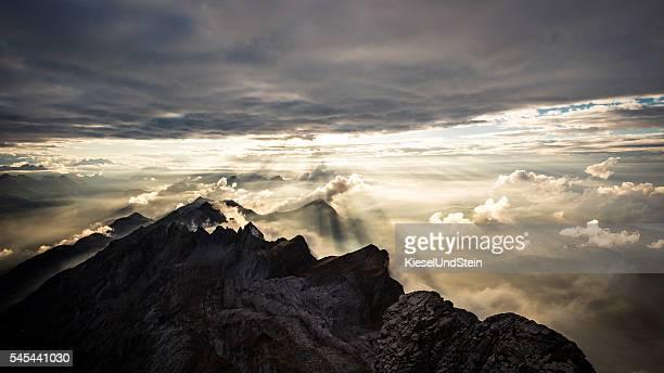 Swiss mountains (Alpstein)