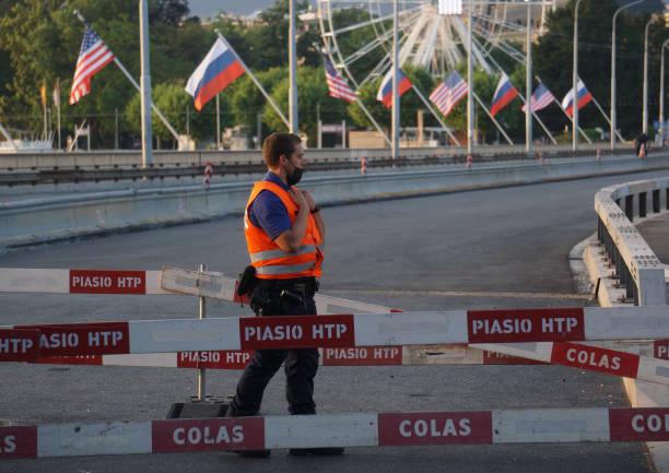 CHE: US-Russia Summit 2021 In Geneva