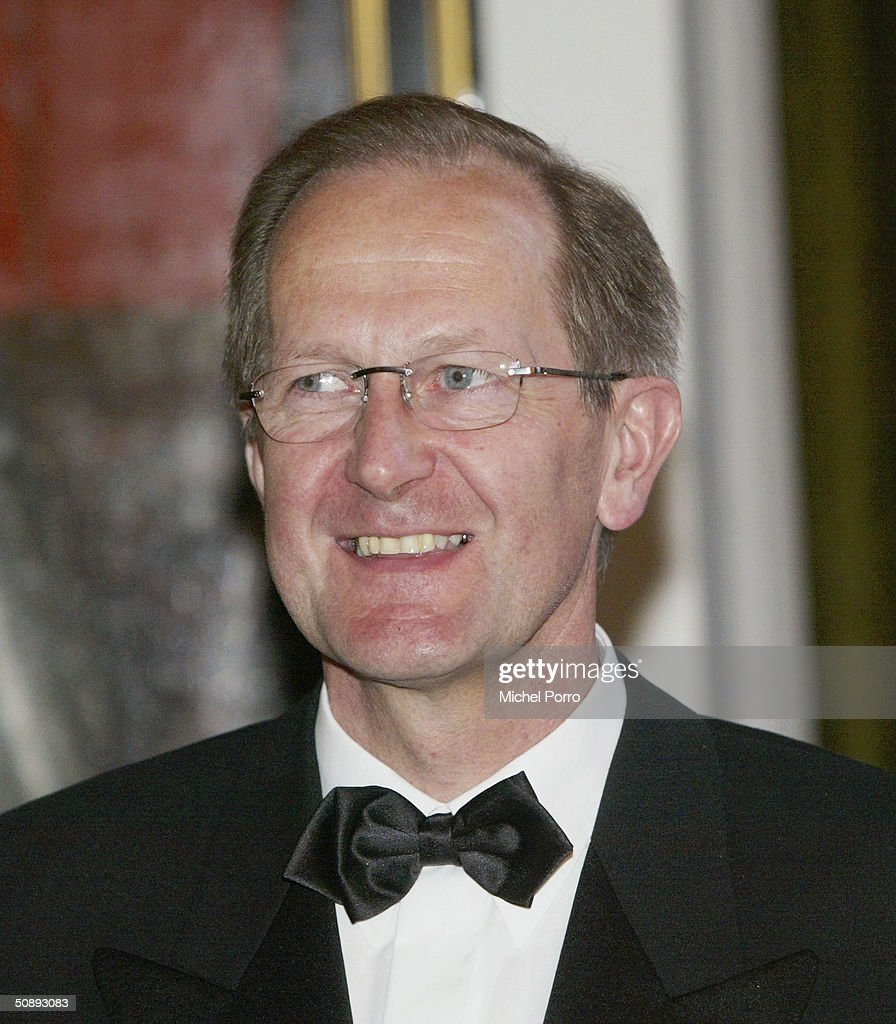 Swiss President Joseph Deiss poses for a picture before a state dinner with Queen beatrix at beginning of his state visit to The Netherlands on May 24, 2004 in Amsterdam, The Netherlands.