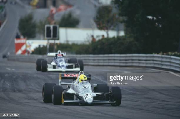 Swiss racing driver Andrea Chiesa drives the CoBRa Motorsport Reynard Ford Cosworth in the 1988 Birmingham Superprix part of the 1988 International...