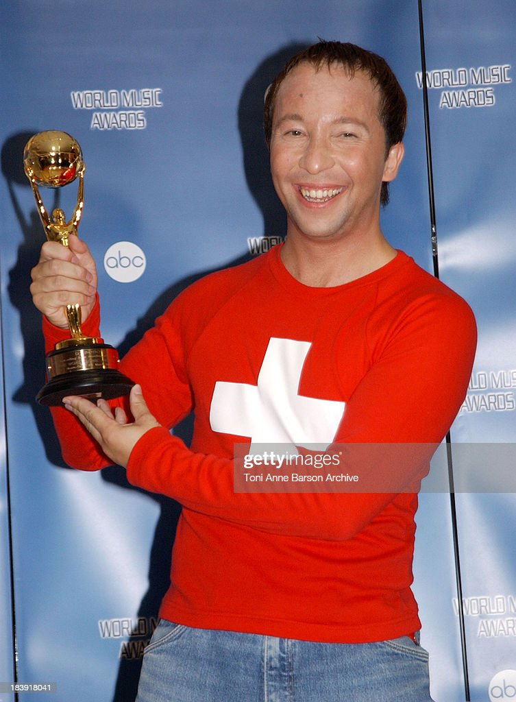 World Music Awards 2002 - Press Room