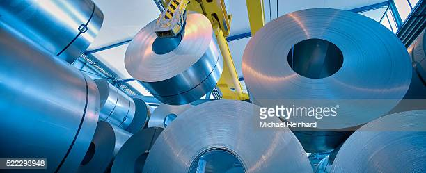 swiss steel production - stahl stock-fotos und bilder