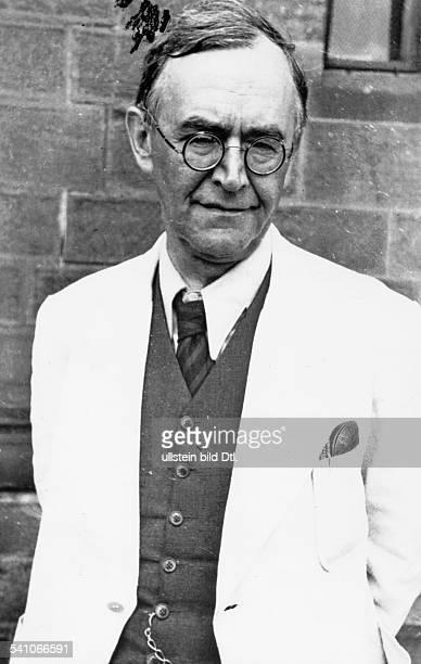KARL BARTH Swiss theologian Photographed c1940