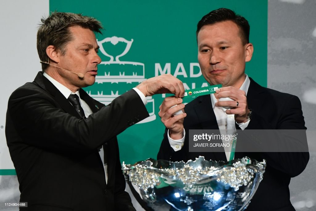 TENNIS-DAVIS-ESP-DRAW : News Photo
