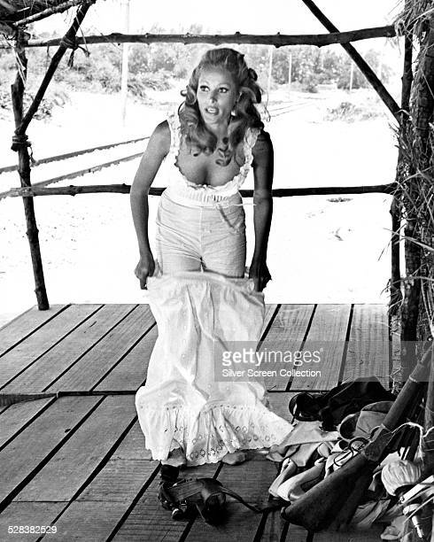 SwissAmerican actress Ursula Andress as Erica Kramer in 'The Southern Star' directed by Sidney Hayers 1969
