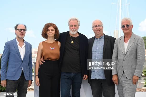 Swiss-based journalist Yves Kugelmann, Israeli comic strip writer Lena Guberman, Israeli Director Ari Folman, Israeli animator Yoni Goodman and...