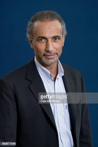 Swissborn academic and writer Tariq Ramadan pictured at the Edinburgh International Book Festival where he talked about his latest book entitled...