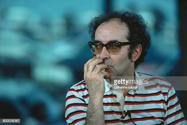 Swissborn director JeanLuc Godard at the 1984 Cannes Film Festival
