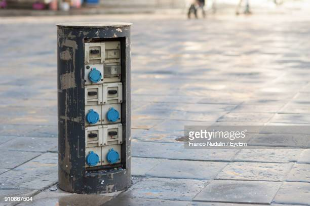Switch Cabinet On Street