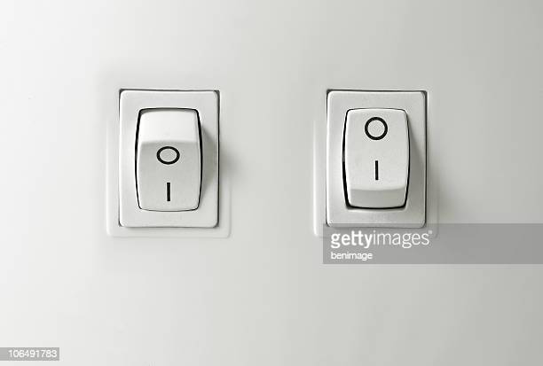 switch on / off button - turning stock photos and pictures