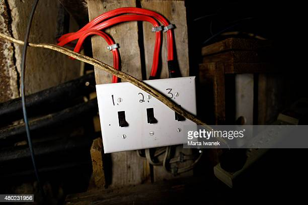 S MILLS ONJULY 9 Switches labelled 1 3 in Ark Two Bruce Beach's fallout shelter in Horning's Mills on July 9 2015 Marta Iwanek/Toronto Star
