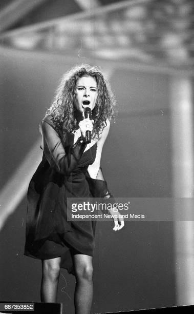 Switz Contestant Annie Cotton in the Eurovision Song Contest Cork