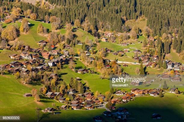 Switzerland, Bern, Bernese Oberland, holiday resort Grindelwald