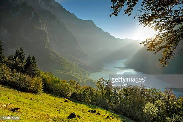 Switzerland, Canton of Glarus, Kloen Valley,