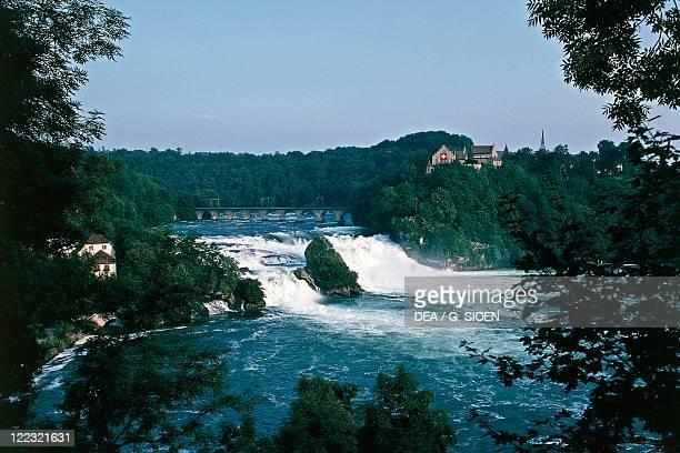 Switzerland Canton of Schaffhausen The Rhine Falls