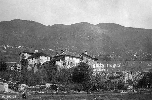 a castle near Locarno probably in the 1910s
