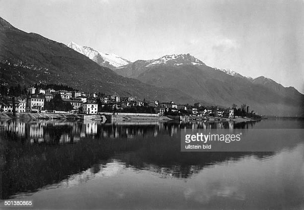 Locarno on Lake Maggiore probably in the 1910s