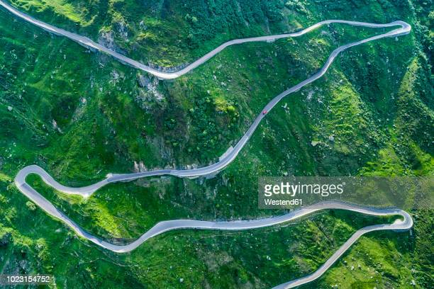 switzerland, canton of uri, urseren valley, furka pass - mountain pass stock pictures, royalty-free photos & images