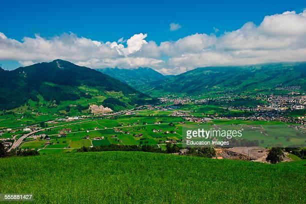 Switzerland Canton Schwyz Brunnen Landscape